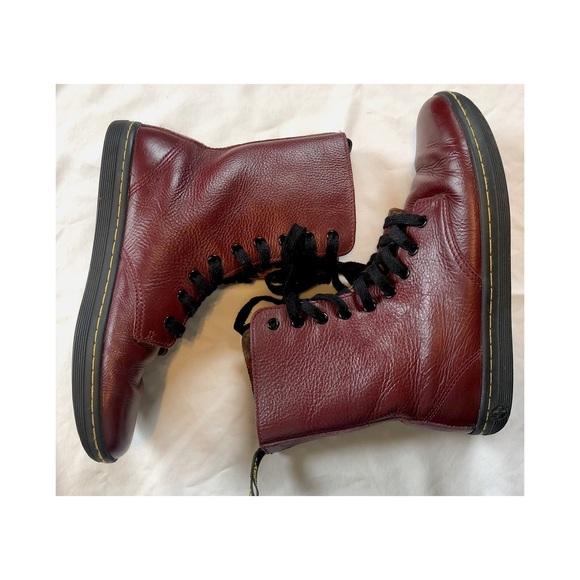 Dr martens oxblood stratford boots